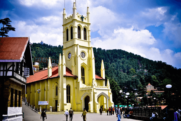 Taxi from Chandigarh to Shimla